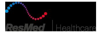 Logo resmed healthcare