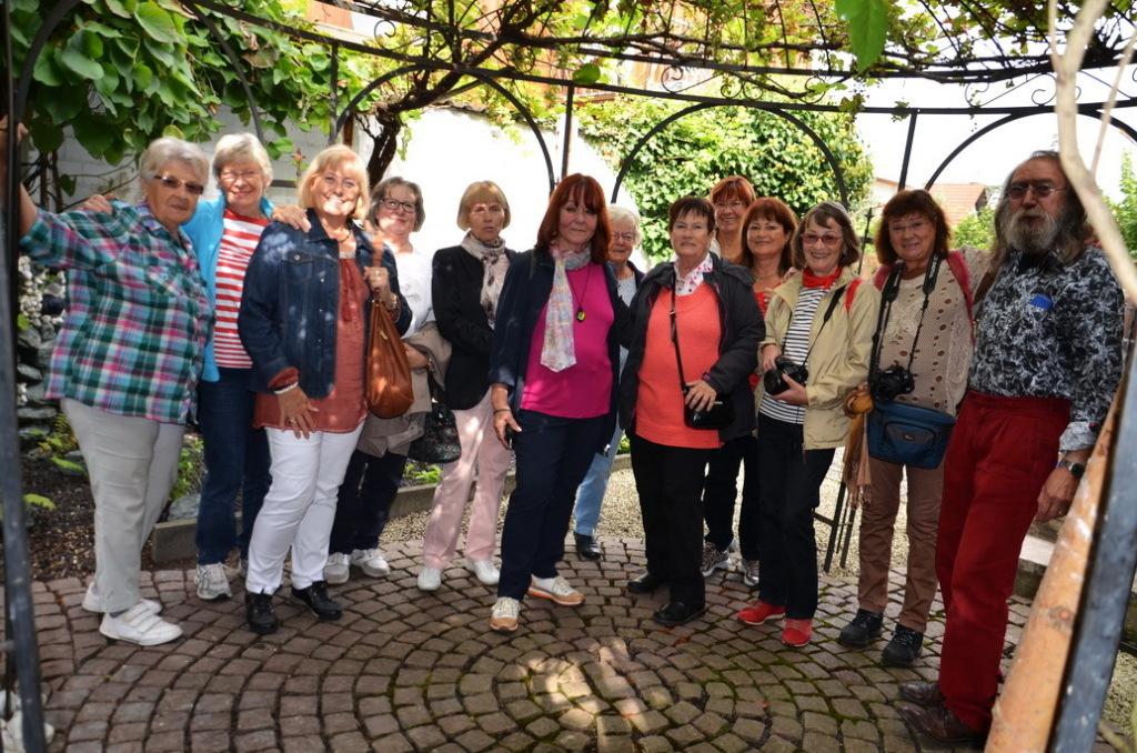 Mitglieder bei einem Ausflug