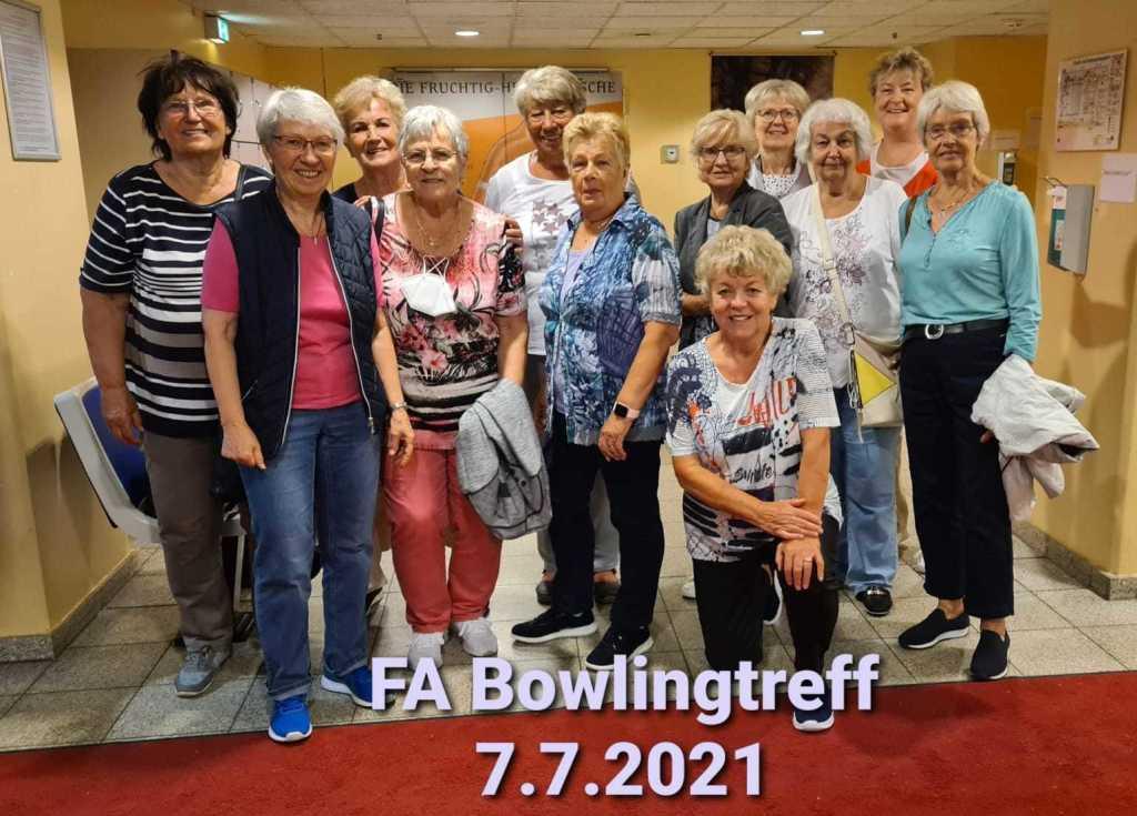 Bowling im Juli 2021