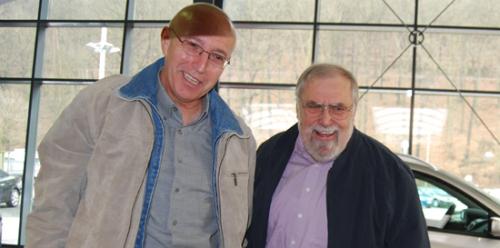 Manfred Kachelmus und Klaus Sommer