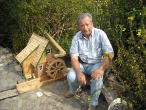 Wassermühle und kingsiggi