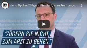 Videoausschnitt Jens Spahn