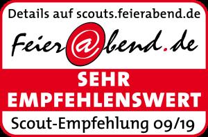 Feierabend-Scout-Empfehlung Logo