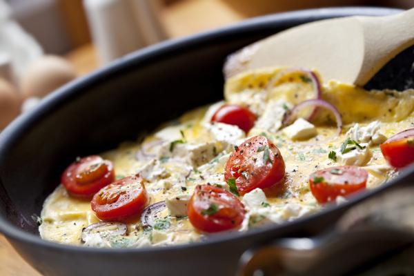 Buntes Omelett
