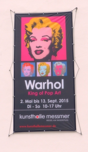 Andy Warhol in Riegel