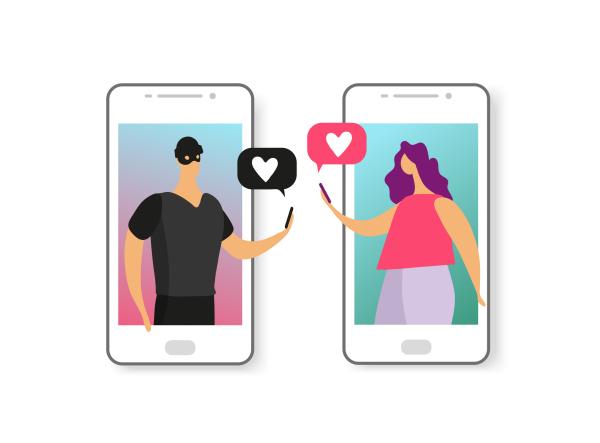 zeichnung von Lovescammern