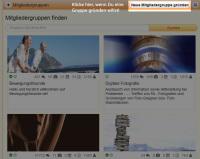 Screenshot Gruppe gründen