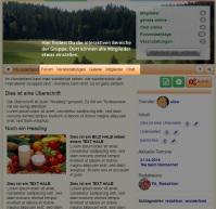 Screenshot interaktive Bereiche