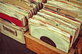 alte Schallplatten